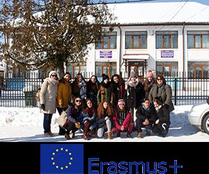 Η ομάδα του σχολείου μας που ταξίδεψε στην Baia de Fier, της Ρουμανίας.